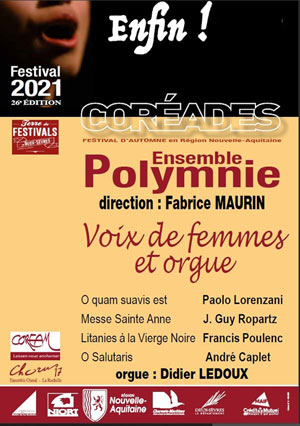 Plus d'infos sur l'évènement VOIX DE FEMMES ET ORGUE