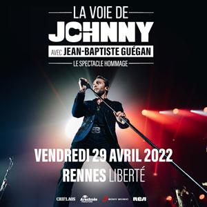 LA VOIE DE JOHNNY Le Liberté concert de chanson française