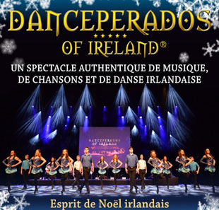 Musiques de France & Europe DANCEPERADOS OF IRELAND - ESPRIT DE NOEL 2019