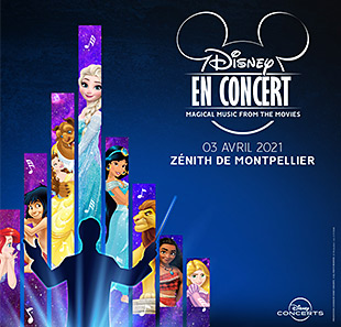Film DISNEY EN CONCERT Magical music from the movies MONTPELLIER