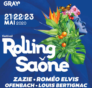 Variété internationale PASS 1 JOUR - 22/05/20 FESTIVAL ROLLING SAONE GRAY