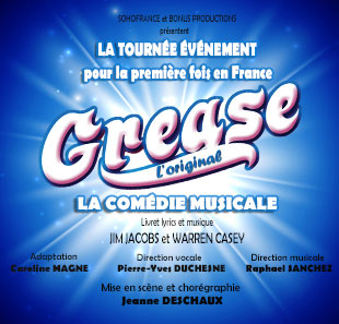 Grand spectacle GREASE L'ORIGINAL FLOIRAC