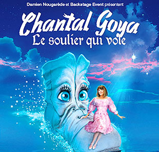 Spectacle pour enfants CHANTAL GOYA LE SOULIER QUI VOLE PARIS