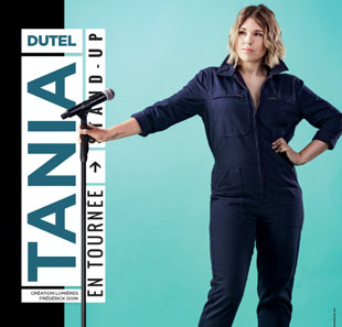 One man/woman show TANIA DUTEL NICE