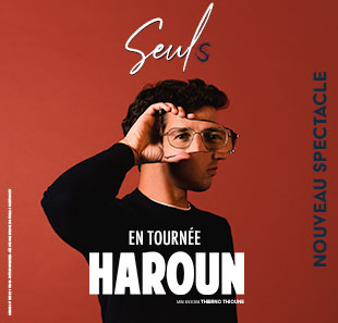 One man/woman show HAROUN SEULS BIARRITZ