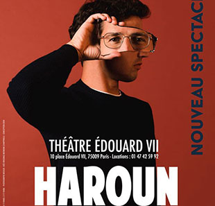 One man/woman show HAROUN SEUL(S) PARIS