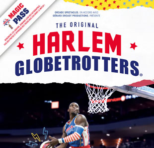 Basketball MAGIC PASS BREST HARLEM GLOBETROTTERS BREST