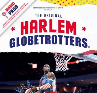 Basketball MAGIC PASS SAINT-QUENTIN HARLEM GLOBETROTTERS ST QUENTIN