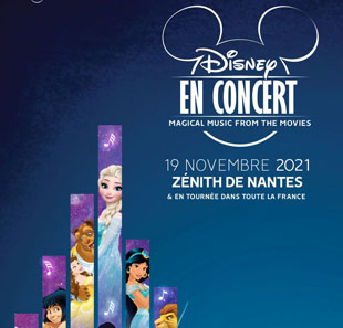 Film DISNEY EN CONCERT MAGICAL MUSIC FROM THE MOVIES ST HERBLAIN