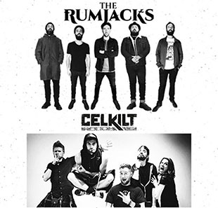 Pop-rock/Folk THE RUMJACKS + CELKILT VILLEURBANNE