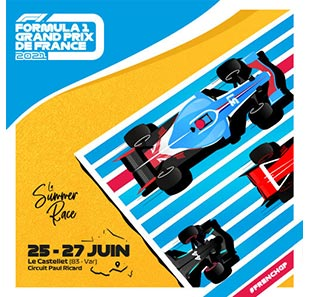 Sport mécanique FORMULA 1 GRAND PRIX DE FRANCE PASS WEEK-END 19 & 20 JUIN 2021 LE CASTELLET