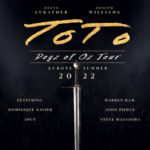 Rock TOTO Dogz of Oz Tour 2022 MIDDELKERKE