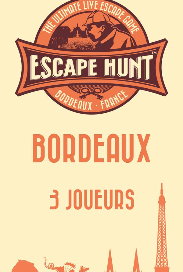 ESCAPE GAME BORDEAUX - 3 PERSONNES