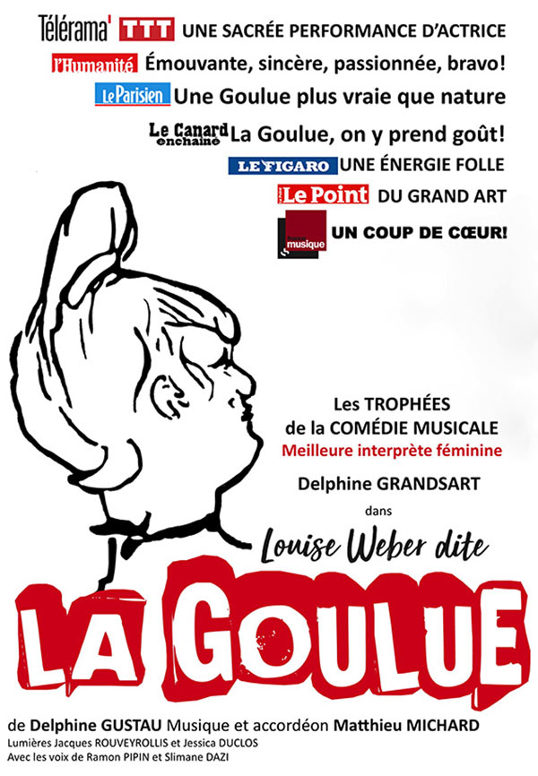 LOUISE WEBER DITE LA GOULUE