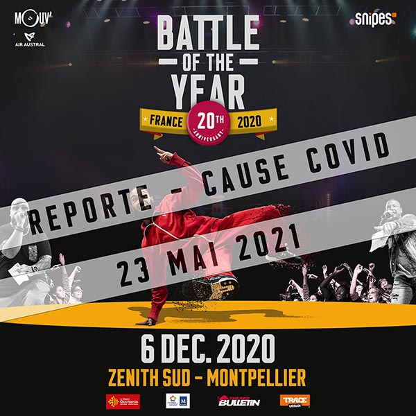 BATTLE OF THE YEAR FRANCE 2021