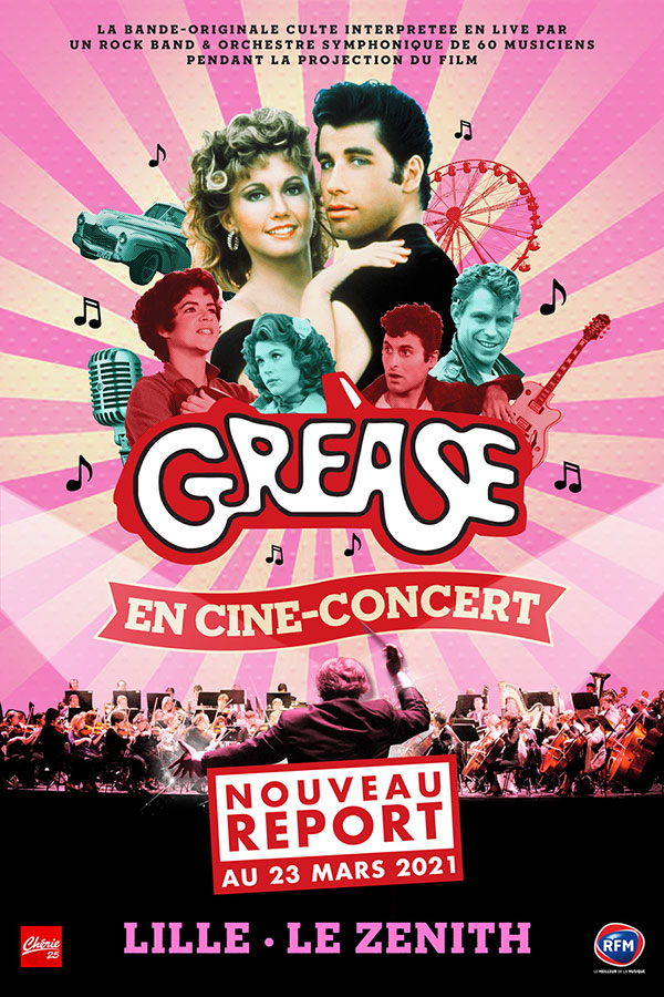 GREASE EN CINE-CONCERT